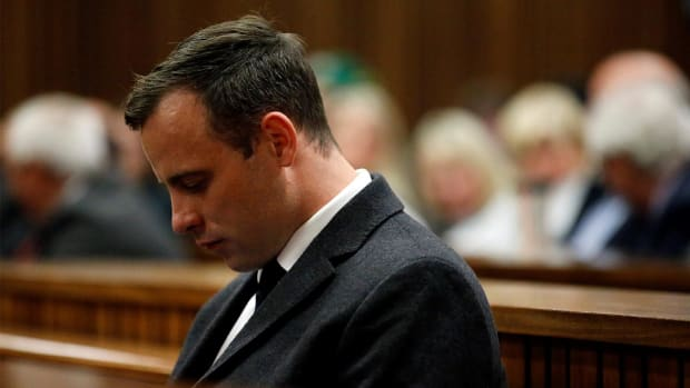 Oscar Pistorius sentenced to six years in prison for girlfriend's murder - IMAGE