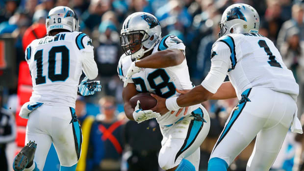 Panthers' run game in perfect harmony with the pass IMAGE