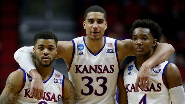 Kansas finds its missing link in forward Landen Lucas, who has waited patiently for his chance to start