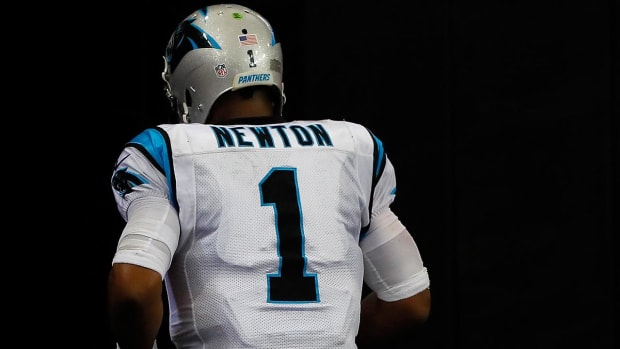 Cam Newton ruled out of Panthers game Monday night--IMAGE