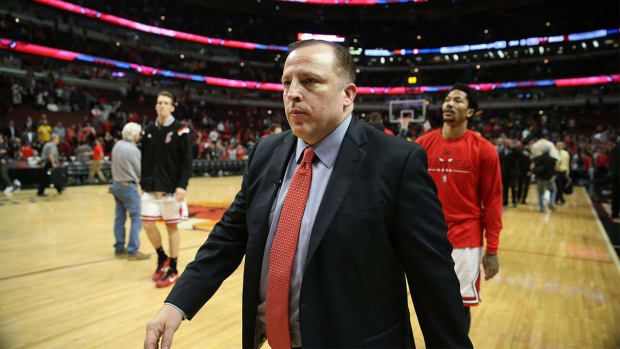 Report: Tom Thibodeau finalizing five-year deal to become Timberwolves president, coach - IMAGE