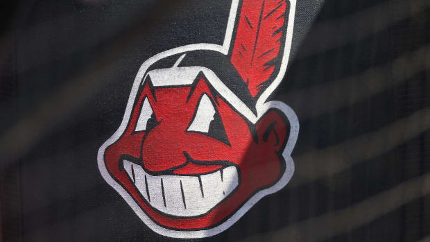 Cleveland Indians move Chief Wahoo to secondary logo - IMAGE