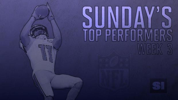 Sunday's top performers: Week 3 IMAGE
