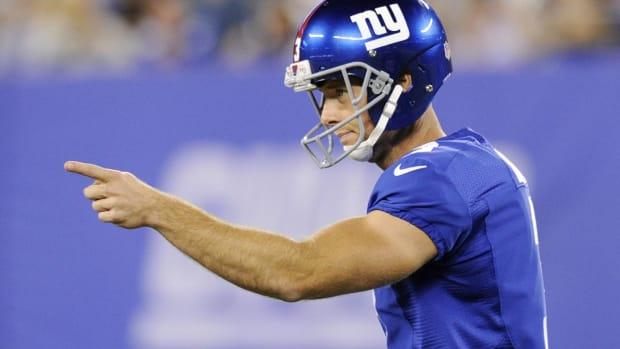 Giants CEO John Mara: Team has no plans to cut K Josh Brown IMAGE