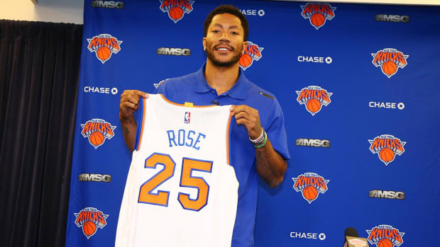 Derrick Rose: Knicks and Warriors are the superteams - IMAGE