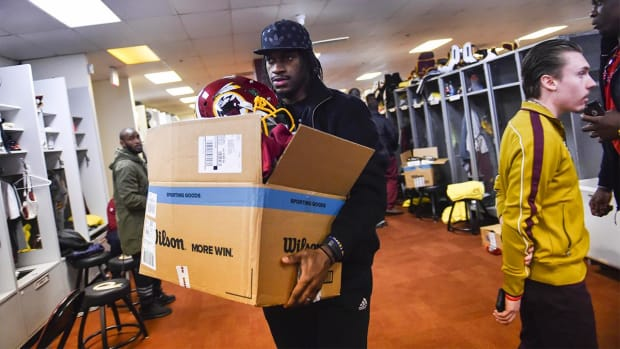 Bruce Allen's comments signal end of RG3 era in D.C. - IMAGE