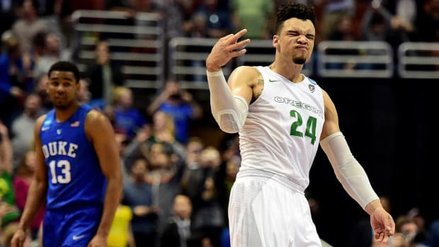 "Coach K reportedly tells Oregon's Dillon Brooks to stop ""showing off"" IMG"