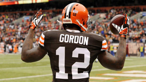 Josh Gordon reinstated by NFL after year-long suspension IMAGE