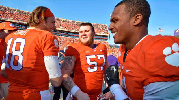 Out of the darkness: How Clemson's Jay Guillermo overcame depression to become the Tigers' leader