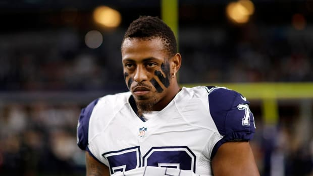 Greg Hardy arrested for possession of a controlled substance - IMAGE