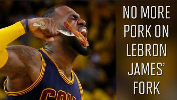 Is eliminating pork the key to LeBron's success -- IMAGE