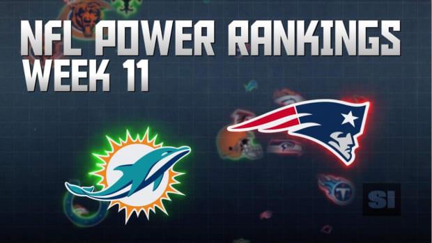 NFL Power Rankings: Week 11 IMAGE