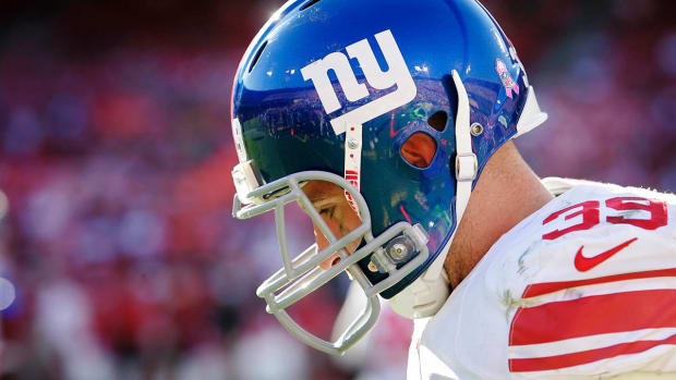 CTE found in brain of former New York Giants safety -- IMAGE