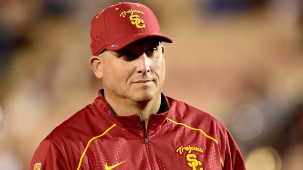 Clay Helton talks Jack Jones' positional versatility, future IMAGE