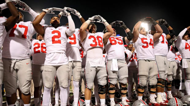 Alabama, Ohio State, Michigan, Clemson top third College Football Playoff rankings -- IMAGE