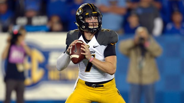 Mizzou suspends QB Maty Mauk for alleged drug use - IMAGE