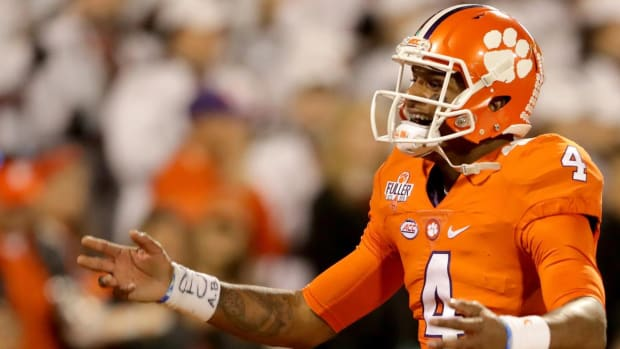 Which team is least likely to make the College Football Playoff? -- IMAGE