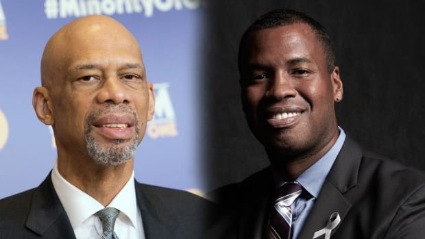 Jason Collins, Kareem Abdul-Jabbar will speak at Democratic convention --IMAGE