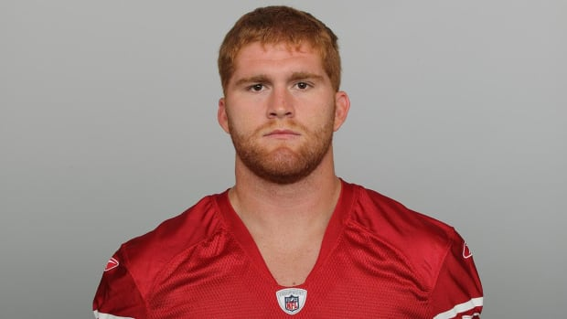 Ex-49ers FB Bruce Miller charged with seven felonies in beating of 70-year-old man - IMAGE