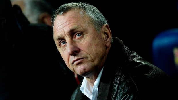 Soccer great Johan Cruyff dies of lung cancer at 68--IMAGE