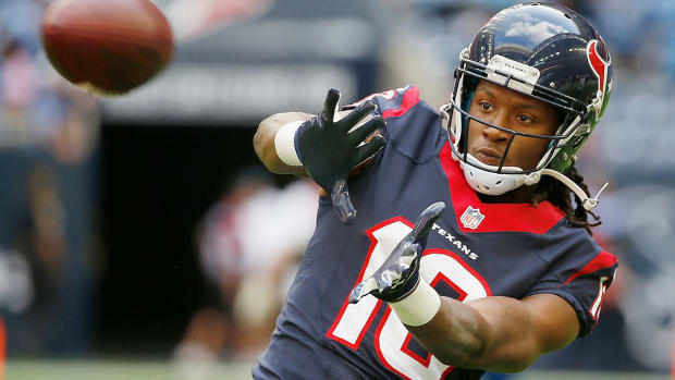 Texans exercise fifth-year option on WR DeAndre Hopkins - IMAGE