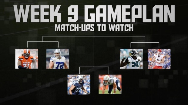 NFL's Week 9 Gameplan IMAGE