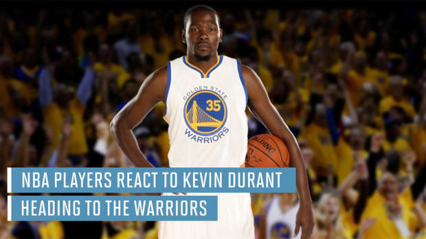 NBA players react to Kevin Durant heading to Warriors - IMAGE