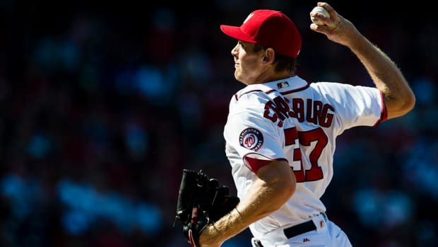 Report: Stephen Strasburg signs seven-year, $175 million contract extension--IMAGE