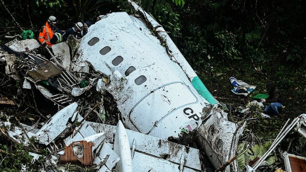 Airline chief arrested over Chapecoense crash - IMAGE