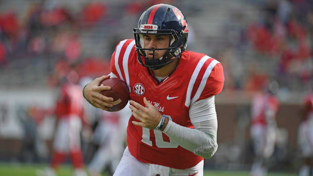 Ole Miss QB Chad Kelly out for season with torn ACL - IMAGE