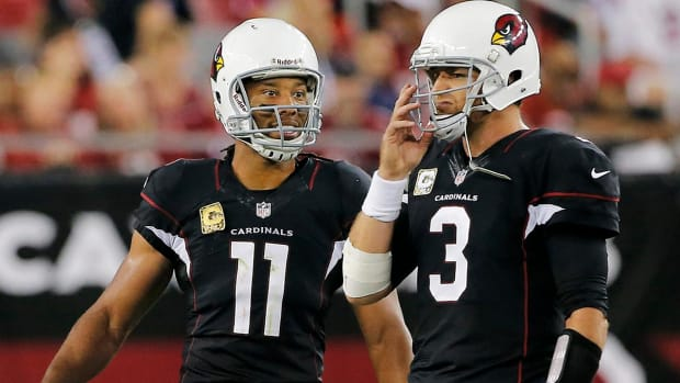 Carson Palmer, Larry Fitzgerald agree to extensions with Cardinals -- IMAGE