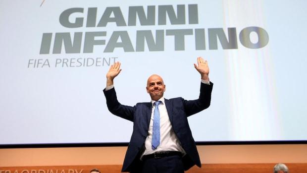 Gianni Infantino elected new FIFA president -- IMAGE