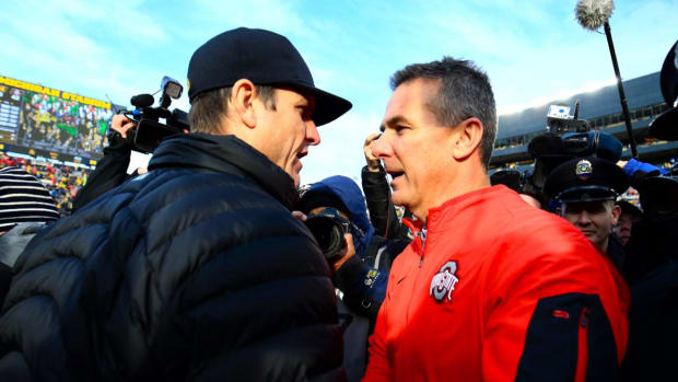 "The Ohio State Buckeyes discuss ""The Rivalry"" and what it means to them -- IMAGE"