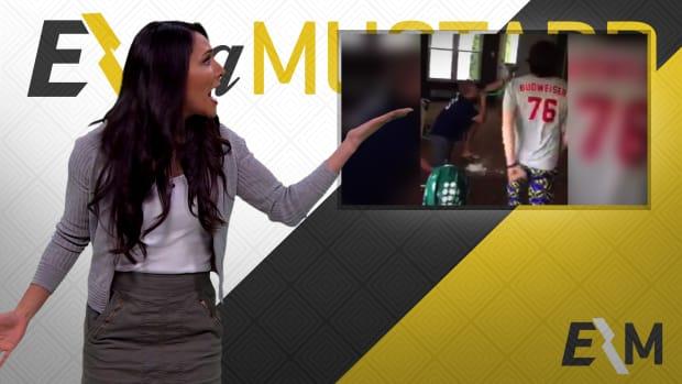 Mustard Minute: College kids create interesting way to drink a beer IMG
