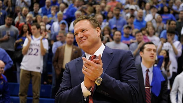 Chalk it up: In an era of constant change, Bill Self has created a consistent contender at Kansas