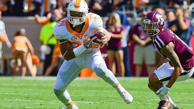 Tennessee safety Todd Kelly Jr. on why he likes Vols' chances vs. Alabama, greatness of Derek Barnett and more