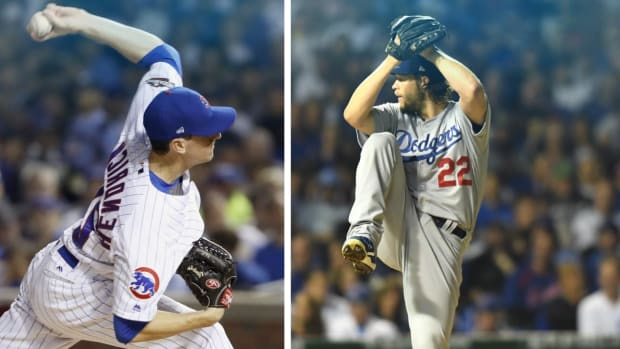 Cubs, Dodgers pitching match up for the ages - IMAGE