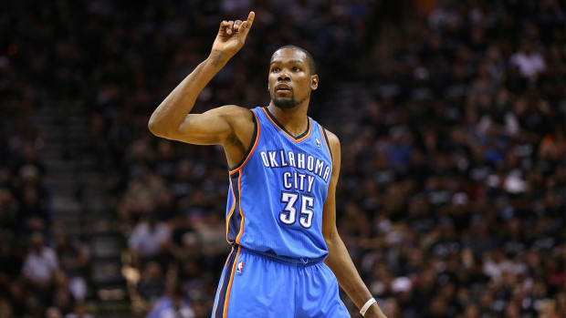 Report: Kevin Durant to host prospective teams in L.A. -- IMAGE