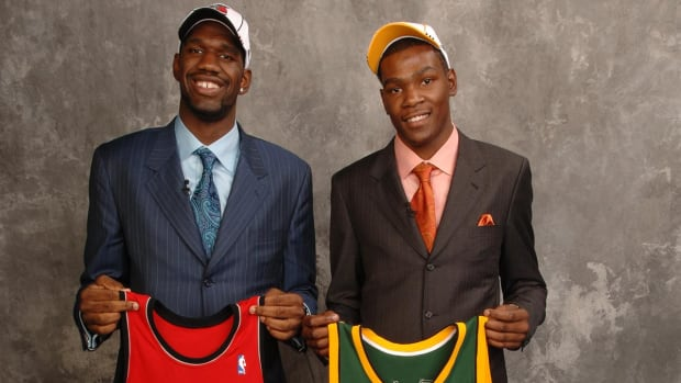 Kevin Durant: Greg Oden calling himself a bust is 'nonsense' - IMAGE
