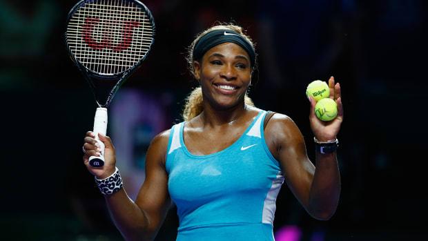 Serena Williams teaches us how to twerk--IMAGE