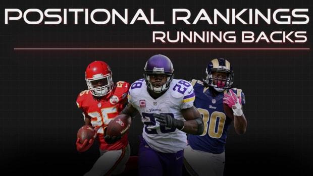 Positional Rankings: Running backs IMAGE