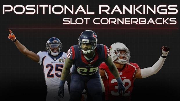 Positional Rankings: Slot cornersbacks IMAGE