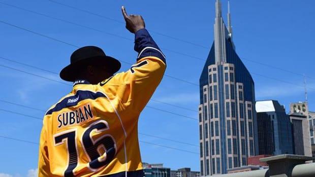 P.K. Subban takes Nashville by storm - IMAGE