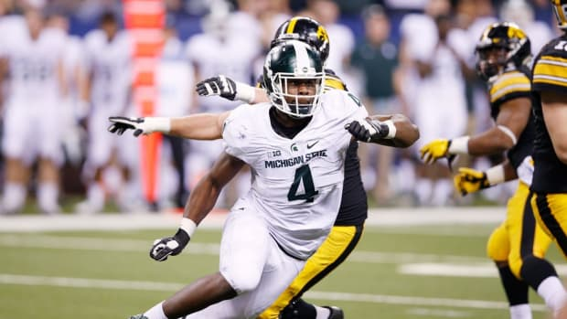 All The Way Up: How Michigan State junior defensive lineman Malik McDowell is (literally) growing into stardom