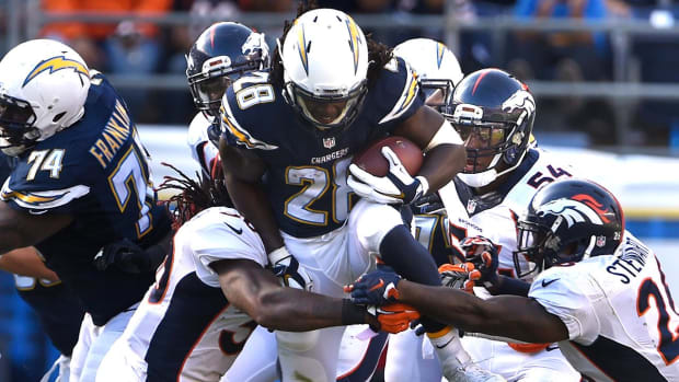 Chargers RB Melvin Gordon recovering from January knee surgery IMAGE