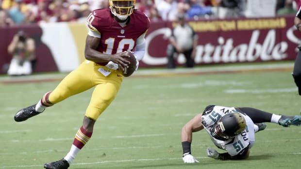 Redskins release Robert Griffin III - IMAGE