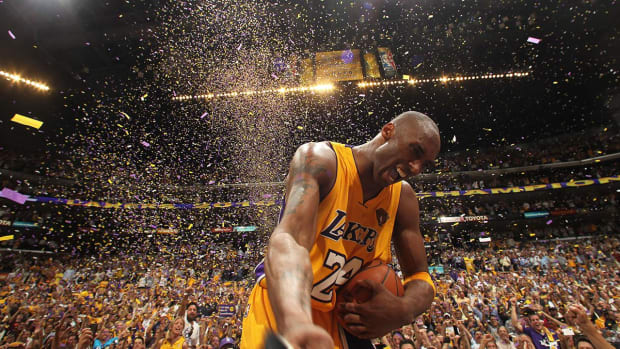 Five of Kobe Bryant's greatest feats--IMAGE