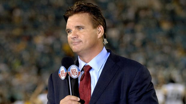 Brian Baldinger suspended six months by NFL Network for bounty comments IMAGE