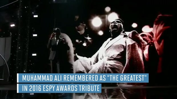 Muhammad Ali honored with musical tribute at 2016 ESPYs -- IMAGE