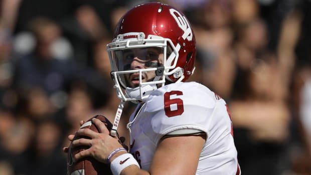 Sooners talk about the Red River Showdown -- IMAGE